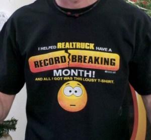 Record Breaking T-Shirt