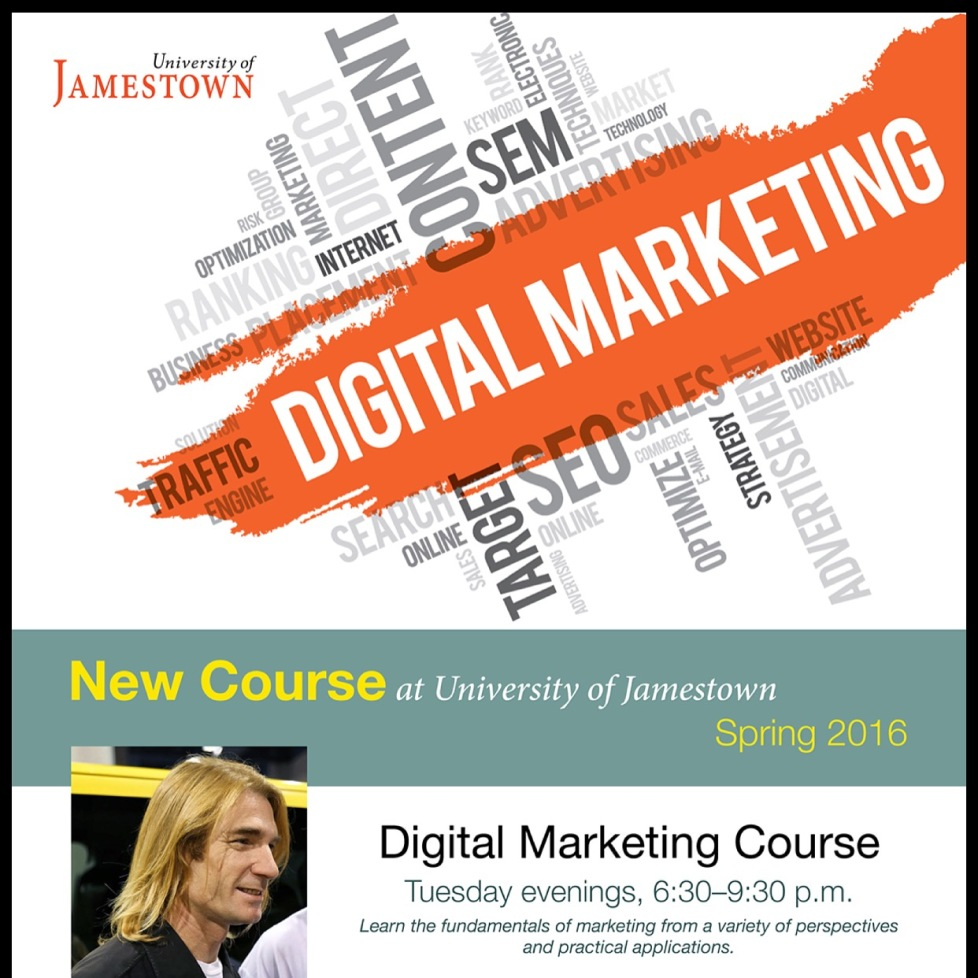 University of Jamestown - Digital Marketing Class