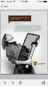 National UPS Ad with Scott Bintz