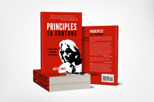 Principles To Fortune - Stack of Books
