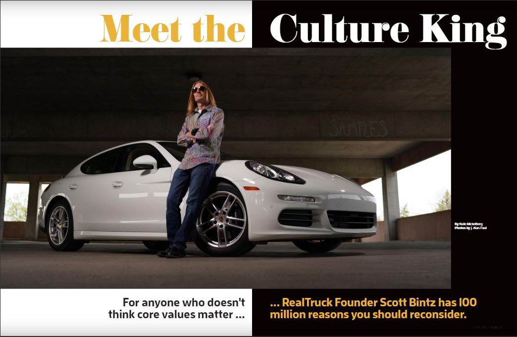 King of Work Culture - Scott Bintz