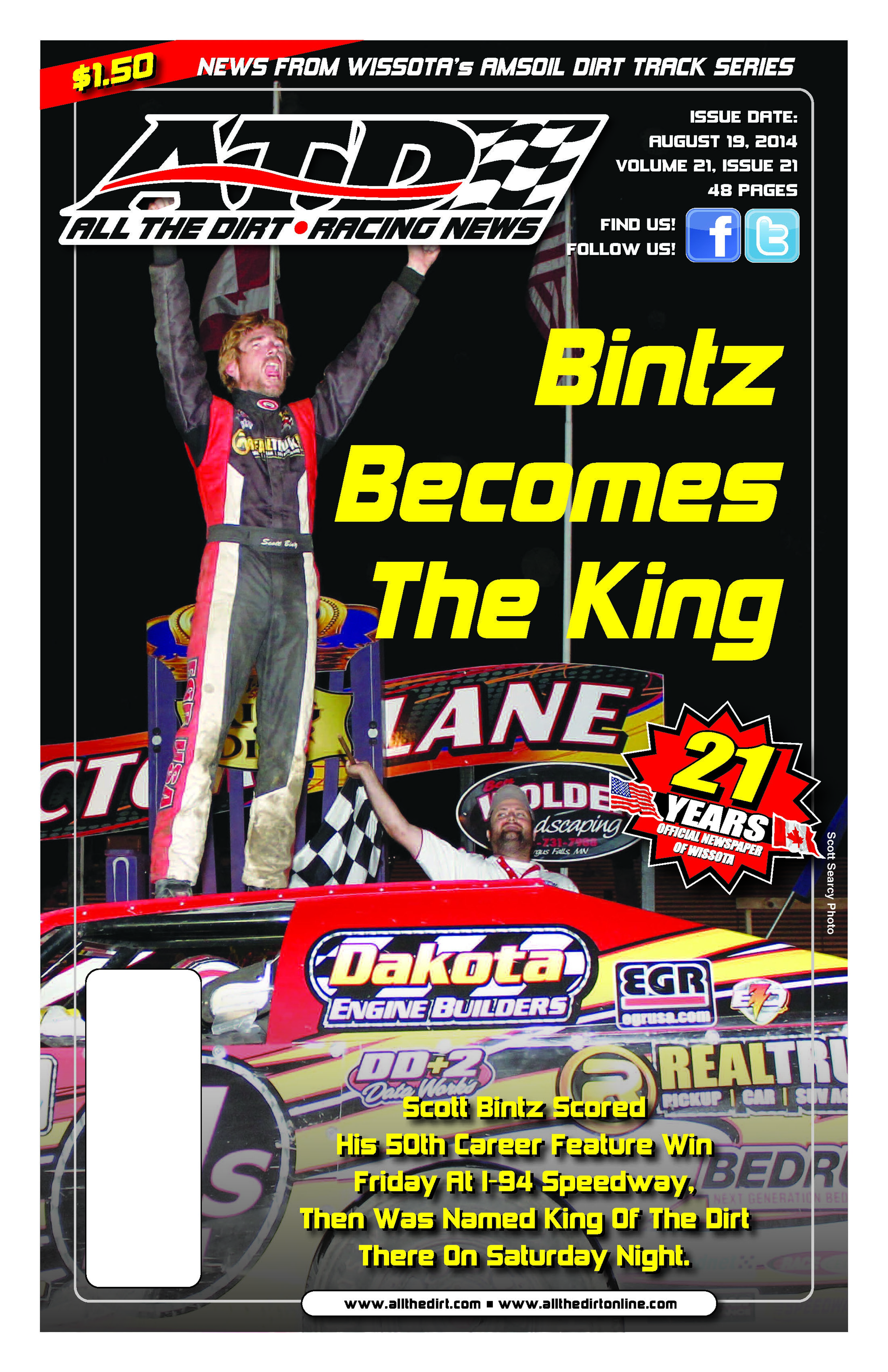 King of the Dirt - Scott Bintz