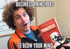 Get Scott's Book, Principles to Fortune